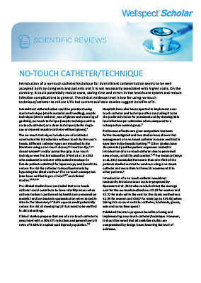 No-Touch Catheter - Technique