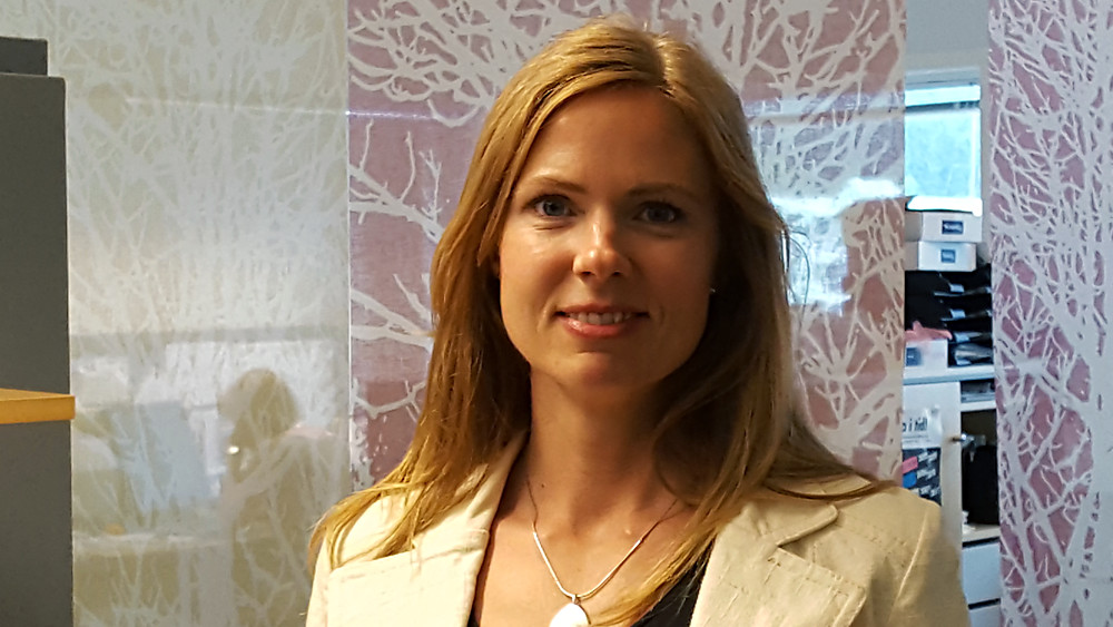 Wellspect About Photo of employee Maria Berntsson